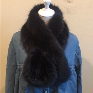 Nordstrom's Faux Fur Stole/Shawl/Wrap/Scarf